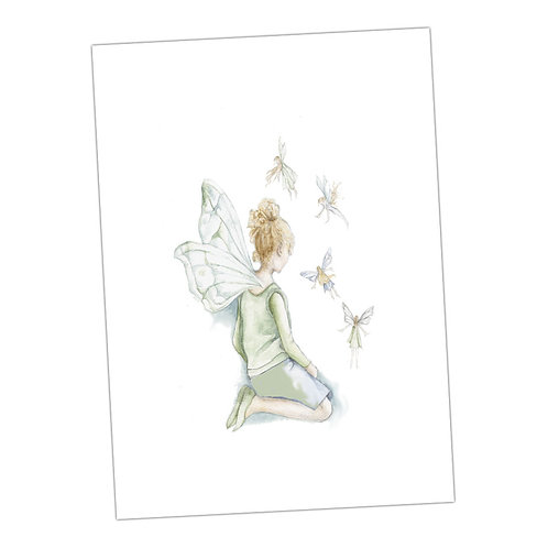 Fairies Everywhere Print
