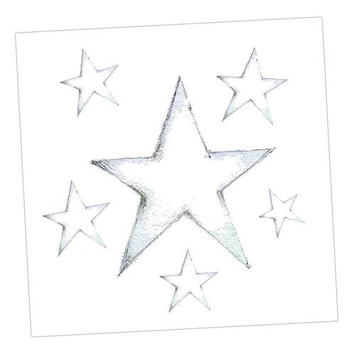 Star Blank Card