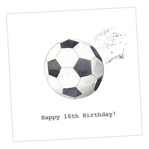 Football 16th Card