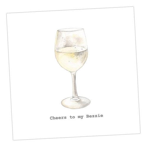 Bezzie Wine Card