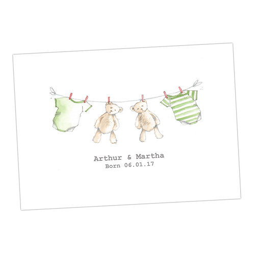 Baby Personalised Print