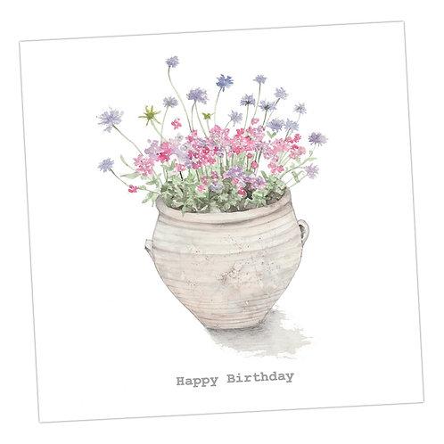 Terracotta Birthday Card