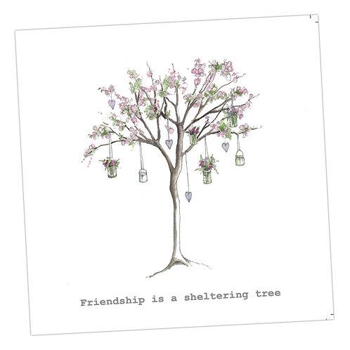 Blossom Friendship Tree Card