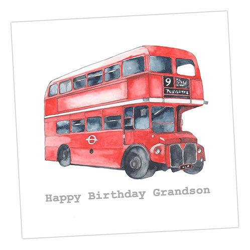 Grandson Bus Card