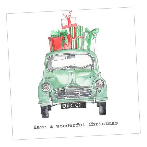 Morris Christmas Card