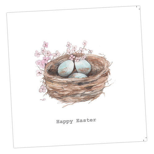 Easter Nest Card