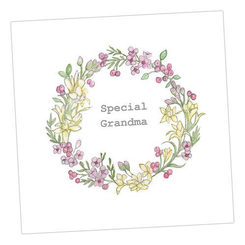 Special Grandma Wreath
