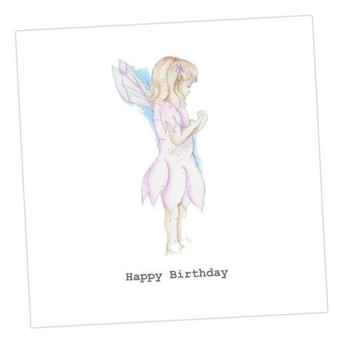 Fairy Jasmine Birthday Card