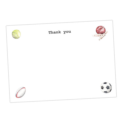 Sporty Note Cards