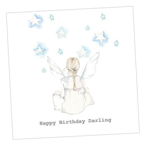 Star Gazing Birthday Card