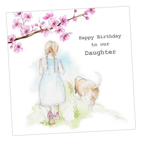 Walkies Daughter Card
