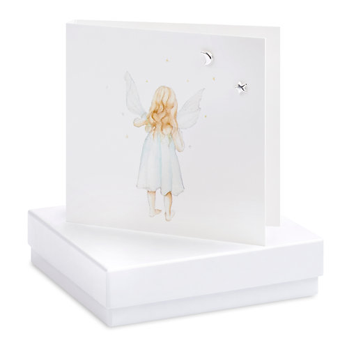 Boxed Fairy Earring Card