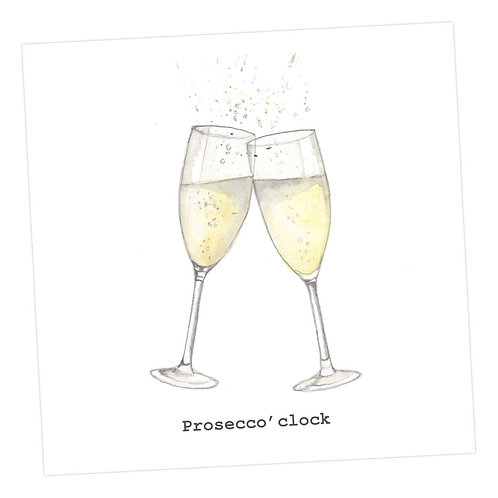 Prosecco'clock Card