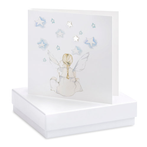 Boxed Sitting Fairy Earring Card