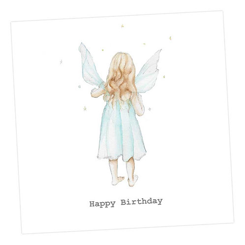 Fairy Rose, Birthday Card