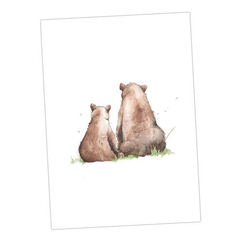Baby Love Bears Print