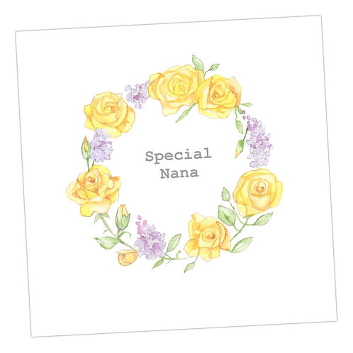 Special Nana Wreath