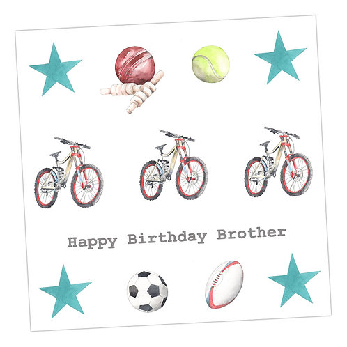Brother Multi Sport Card