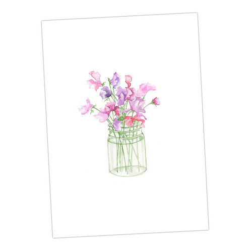 Three Sets of a Floral Pack of Assorted A6 Cards