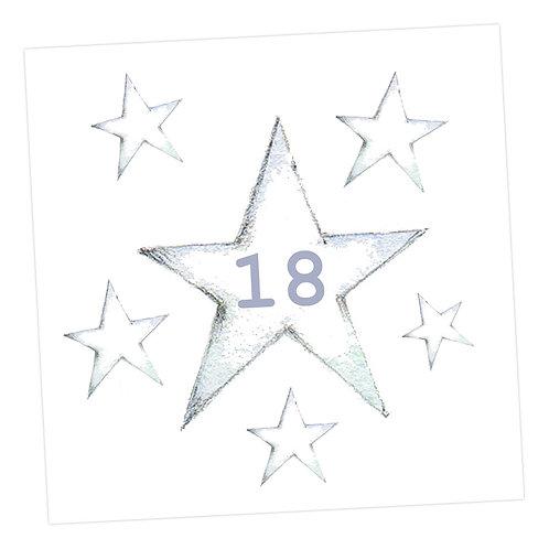 Star 18th Card