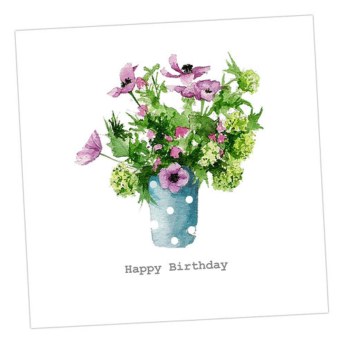 Briar Rose Birthday Card