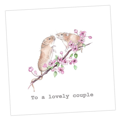 Lovely Couple Card