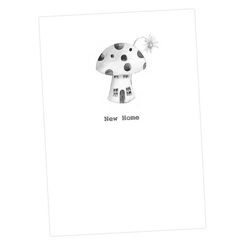 Toadstool New Home Card