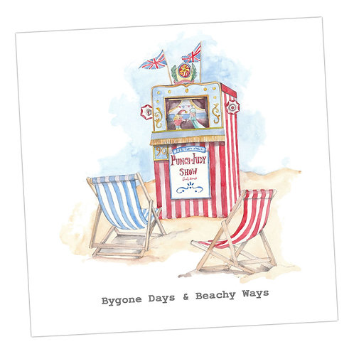 Punch & Judy ... Days Card