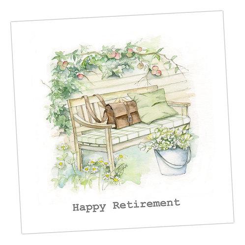 Garden Peace Retirement Card