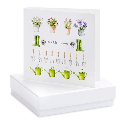 Boxed Multi Garden Earring Card
