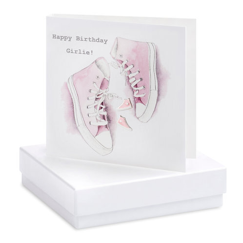 Boxed Earring Card Converse