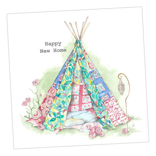 New Home Tent Card