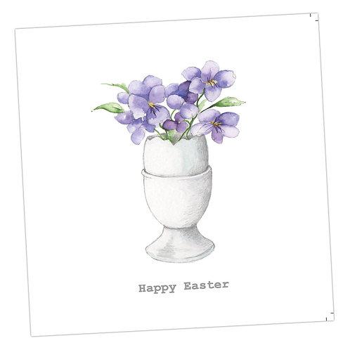 Easter Eggcup Card