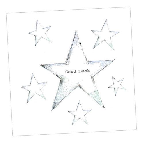 Star Good Luck Card