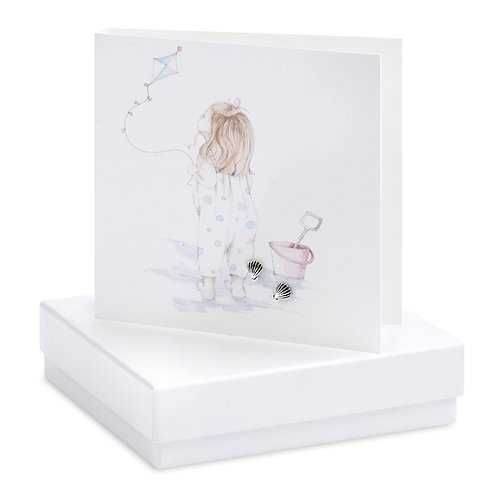 Boxed Beach Baby Earring Card