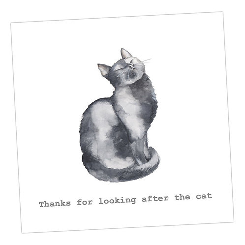 Thank You ...Cat Card