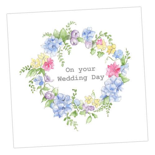 Wedding Wreath Card