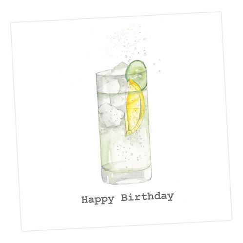G&T Birthday Card