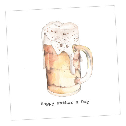 Beer Father's Day Card