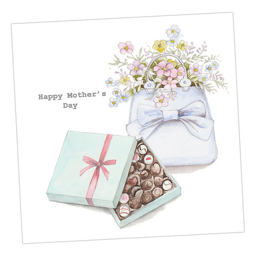 Chocolates & Bag Mother's Day Card