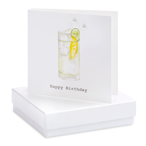Boxed G&T Earring Card