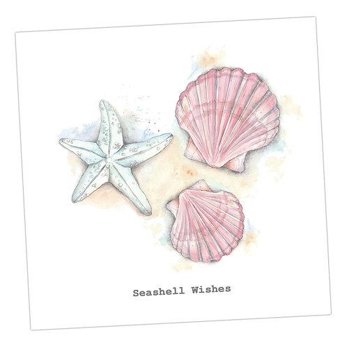 Seashell Wishes Birthday Card