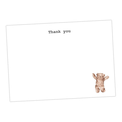 Bear Note Cards