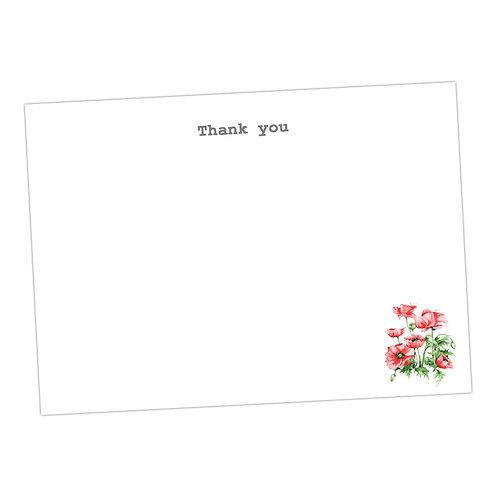 Poppy Note Cards