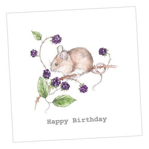 Berry Happy Birthday Card