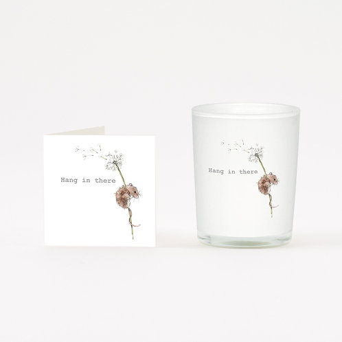 Hang In There Boxed Candle & Card