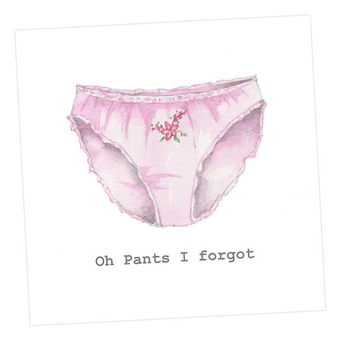 Oh Pants! Card