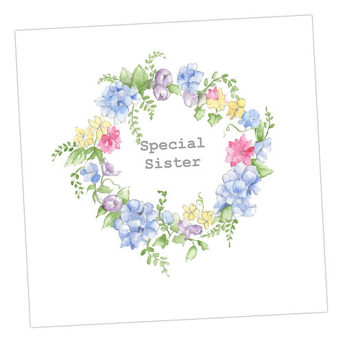 Special Sister Wreath