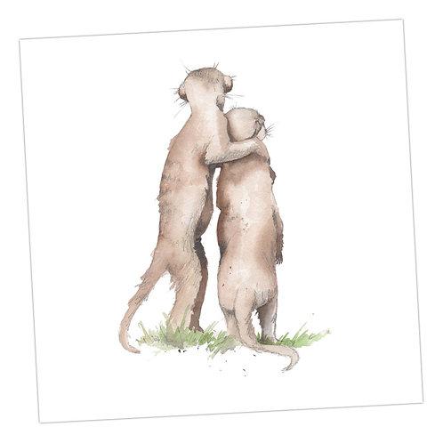Baby Love Meerkats Card