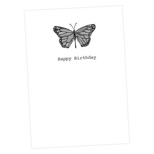Birthday Butterfly Card